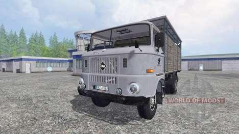 IFA W50 [animal transport] for Farming Simulator 2015