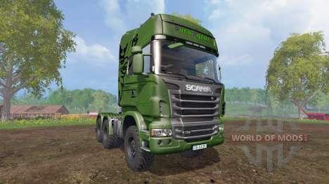 Scania R730 [euro farm] v0.9.6 for Farming Simulator 2015