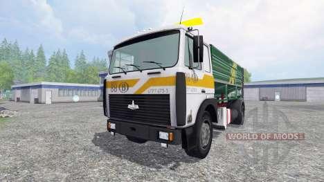 MAZ-5516 [silo truck] for Farming Simulator 2015