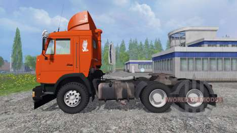 KamAZ-54115 [red] for Farming Simulator 2015