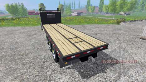 Kenworth T440 [flatbed] for Farming Simulator 2015