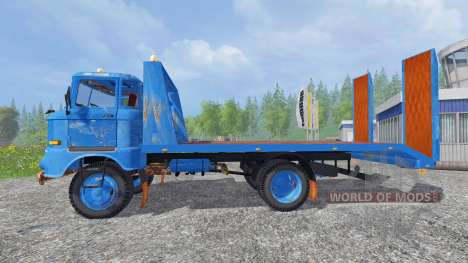IFA W50 [tow truck] for Farming Simulator 2015