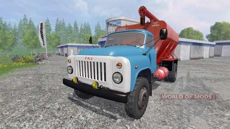 The GAZ 53 ZSK v2.0 for Farming Simulator 2015