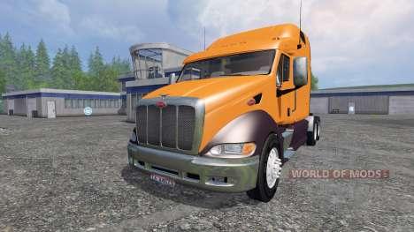 Peterbilt 387 v2.0 for Farming Simulator 2015