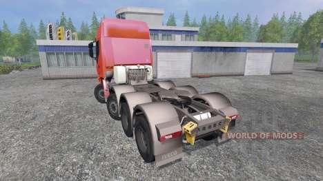 Iveco Stralis 560 8x4 v1.5 for Farming Simulator 2015