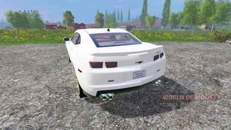 Chevrolet Camaro ZL1 for Farming Simulator 2015
