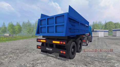 KamAZ-5460 [trailer] for Farming Simulator 2015