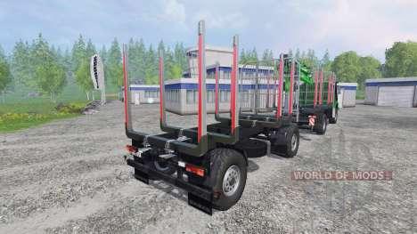 Mercedes-Benz Zetros 1833 [forest] v0.9 for Farming Simulator 2015