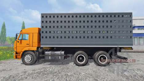 KamAZ-45143 [pack] for Farming Simulator 2015