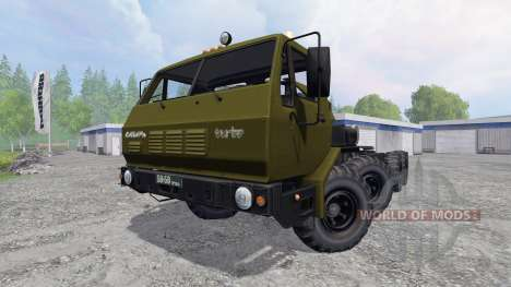 KrAZ-7Э6316 Siberia for Farming Simulator 2015
