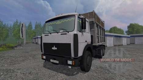 MAZ-5516 v1.0 for Farming Simulator 2015