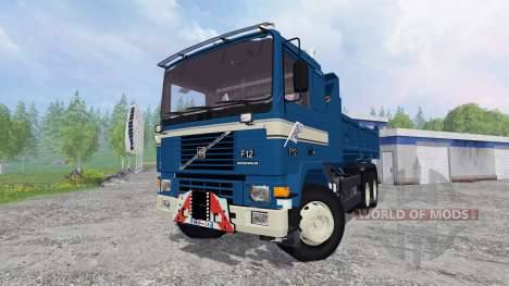 Volvo F12 6x4 [tipper] v1.9 for Farming Simulator 2015