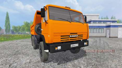 KamAZ-55111 1996 for Farming Simulator 2015