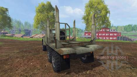 ZIL-131 [timber] for Farming Simulator 2015