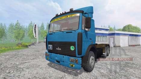 MAZ-642208 v2.0 for Farming Simulator 2015