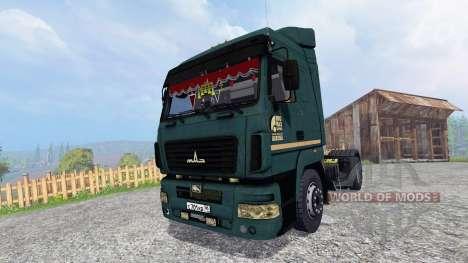MAZ-5440 v1.2 for Farming Simulator 2015