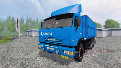 KamAZ-45143 [NefAZ 8560] for Farming Simulator 2015