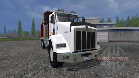 Kenworth T800 [dump] for Farming Simulator 2015