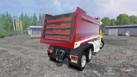 MAN TGS 18.440 [dump] for Farming Simulator 2015