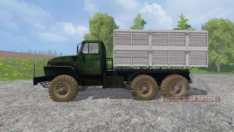 Ural-4320 [GKB-817] v1.2 for Farming Simulator 2015