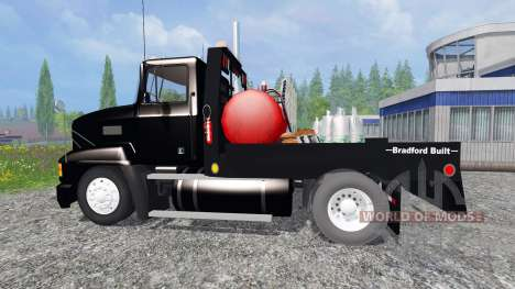 Mack CH612 [flatbed] v2.0 for Farming Simulator 2015