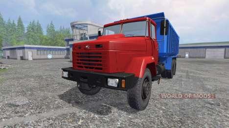 KrAZ-6130 C4 v1.2 for Farming Simulator 2015