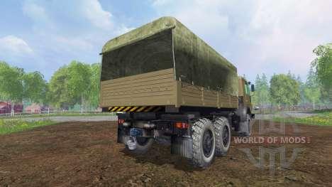 KamAZ-43114 v1.3 for Farming Simulator 2015