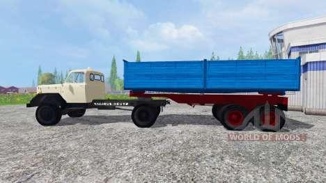 Magirus-Deutz 200D26 1964 [tractors] for Farming Simulator 2015