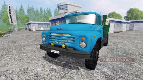 ZIL-130 [blue] for Farming Simulator 2015