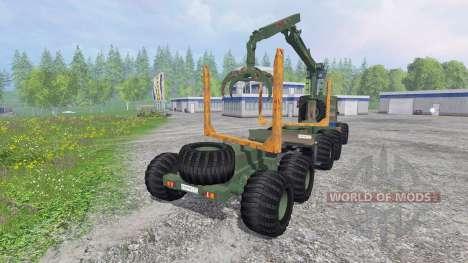 KrAZ-255 B1 [timber] v2.5 for Farming Simulator 2015