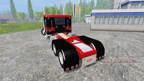 Peterbilt 379 [flat top] for Farming Simulator 2015