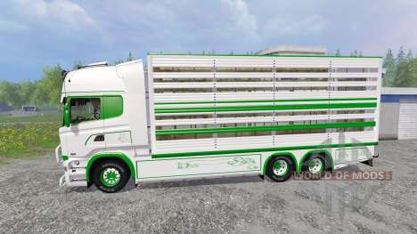 Scania R730 [cattle] for Farming Simulator 2015