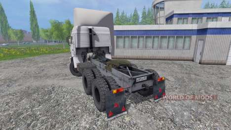 KamAZ 54115 v1.0 for Farming Simulator 2015