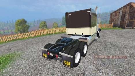 Peterbilt 388 [fixed] for Farming Simulator 2015