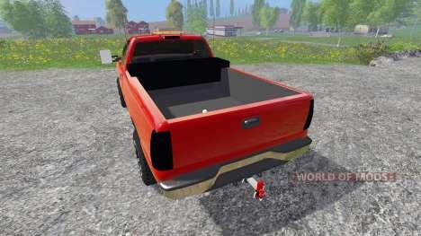 Chevrolet Silverado 2002 v2.0 for Farming Simulator 2015