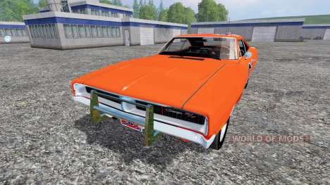 Dodge Charger RT 1969 General Lee for Farming Simulator 2015