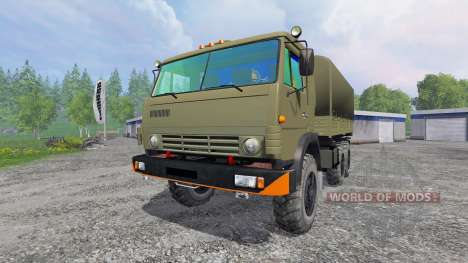 KamAZ-43114 for Farming Simulator 2015