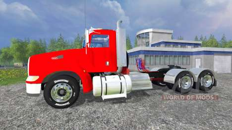 Peterbilt 384 v2.0 for Farming Simulator 2015