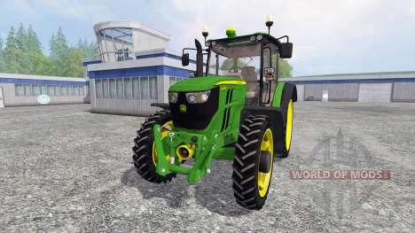 John Deere 6090RC v2.0 for Farming Simulator 2015
