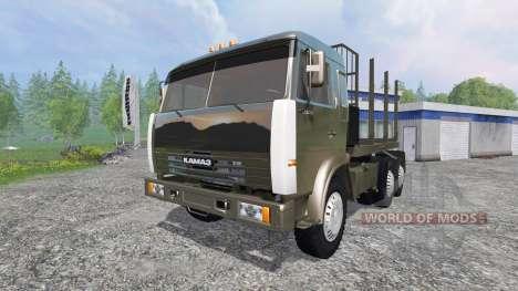 KamAZ-54115 [the truck] v1.3 for Farming Simulator 2015
