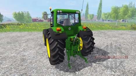 John Deere 6920 S v2.0 for Farming Simulator 2015
