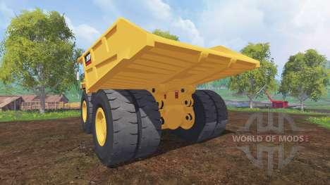 Caterpillar 797B for Farming Simulator 2015