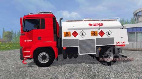 MAN TGA [CEPSA] v2.0 for Farming Simulator 2015