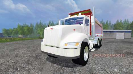 Peterbilt 384 [dump] v5.0 for Farming Simulator 2015