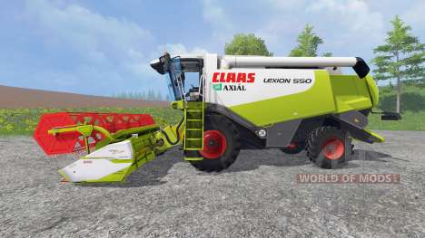 CLAAS Lexion 550 v1.0 for Farming Simulator 2015