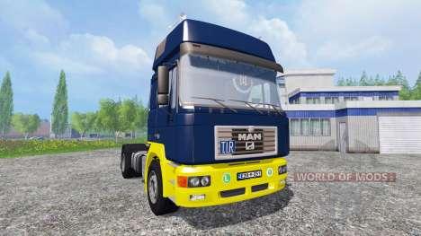 MAN F2000 19.414 [blue edition] for Farming Simulator 2015