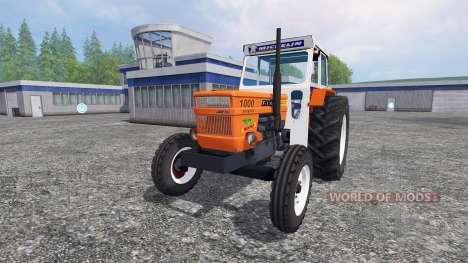 Fiat 1000 super for Farming Simulator 2015