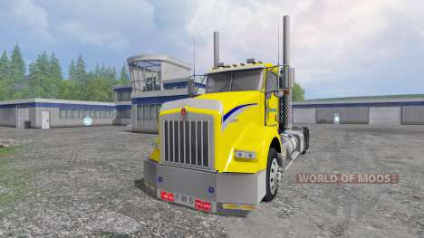 Kenworth T800 [pack] for Farming Simulator 2015