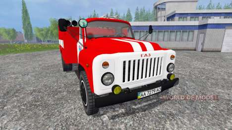 GAZ-53 AC-30 for Farming Simulator 2015
