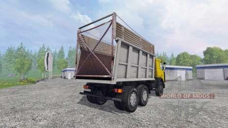 MAZ-5516 [multicolor] v2.0 for Farming Simulator 2015